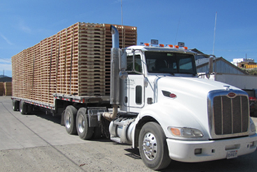 pallet delivery Reno and Northern Nevada